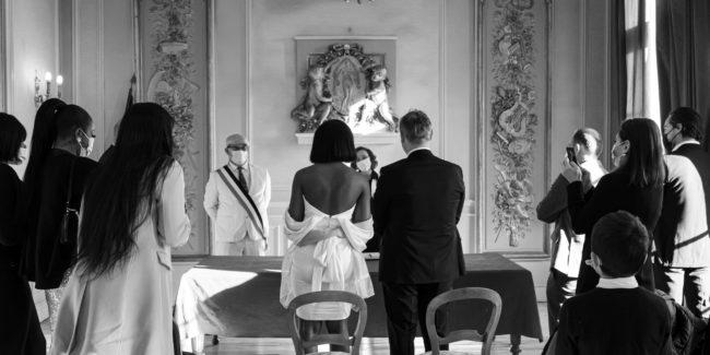 photo mariage covid mairie