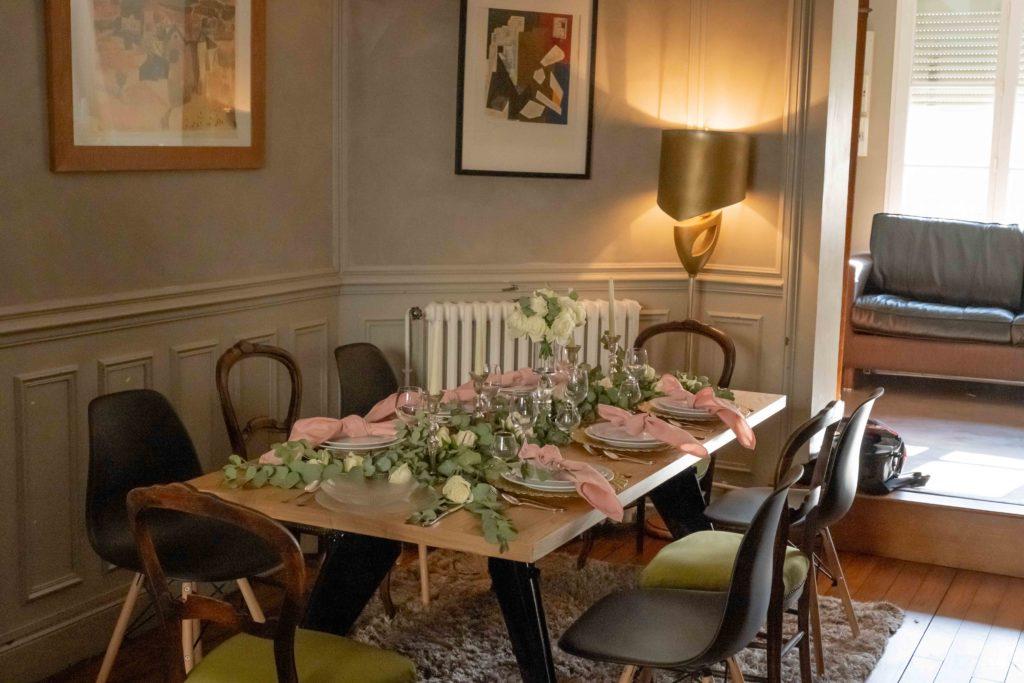 Décoration mariage table invité